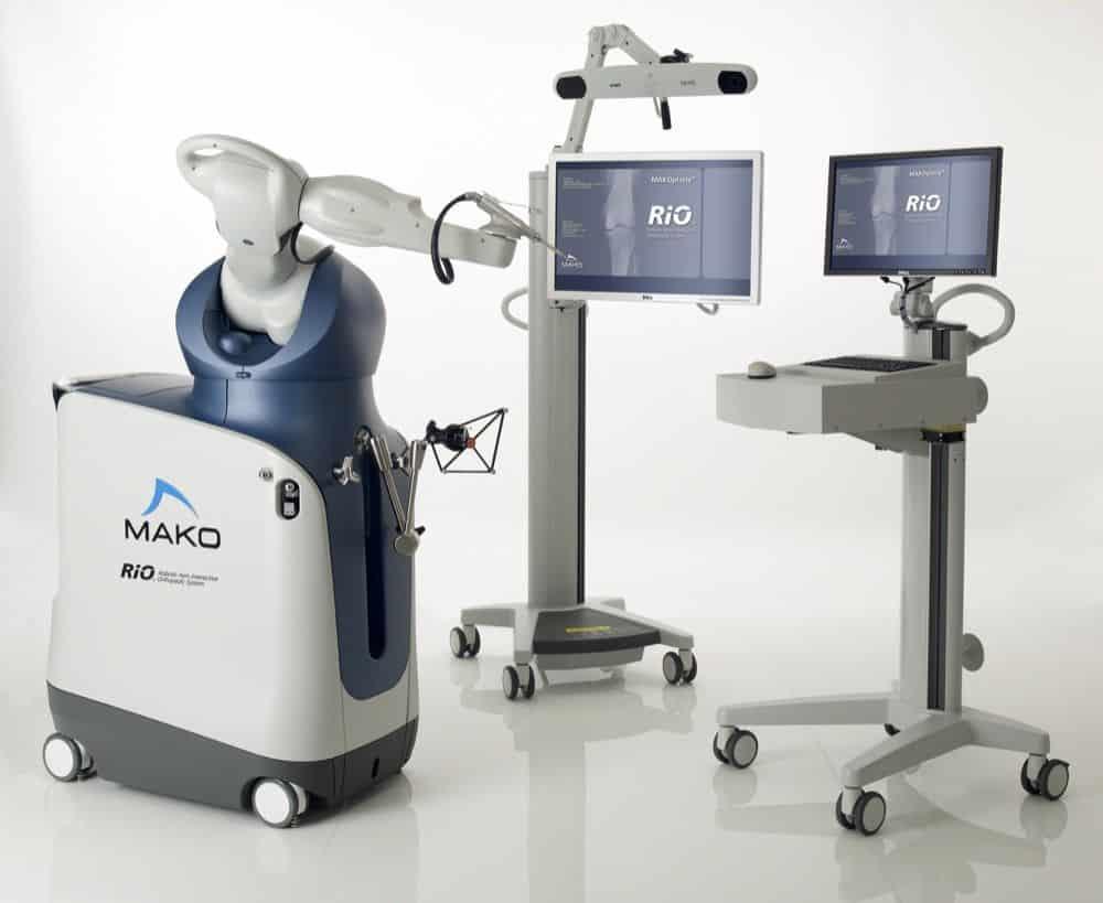 Ρομποτική Ημιολική Αρθροπλαστική Γόνατος MAKOplasty