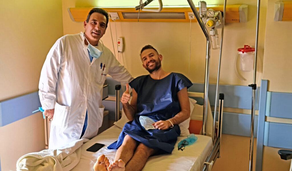 Απόλυτα επιτυχημένη η επέμβαση στον αθλητή του Πανερυθραϊκού Άλκη Παππά